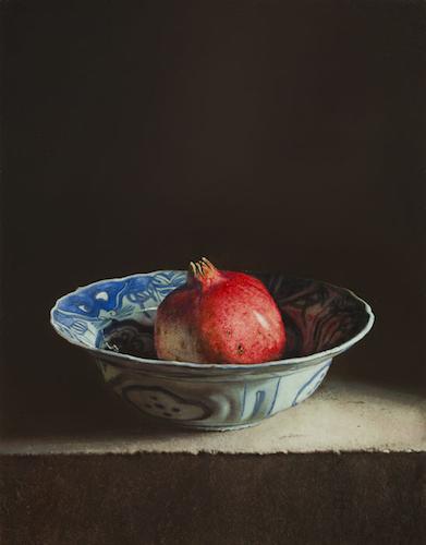 Stilleven-met-granatappel-2014 Stillevens