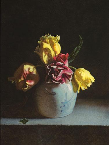 Stilleven-met-tulpen-40-X-30-2015 Tulpomania